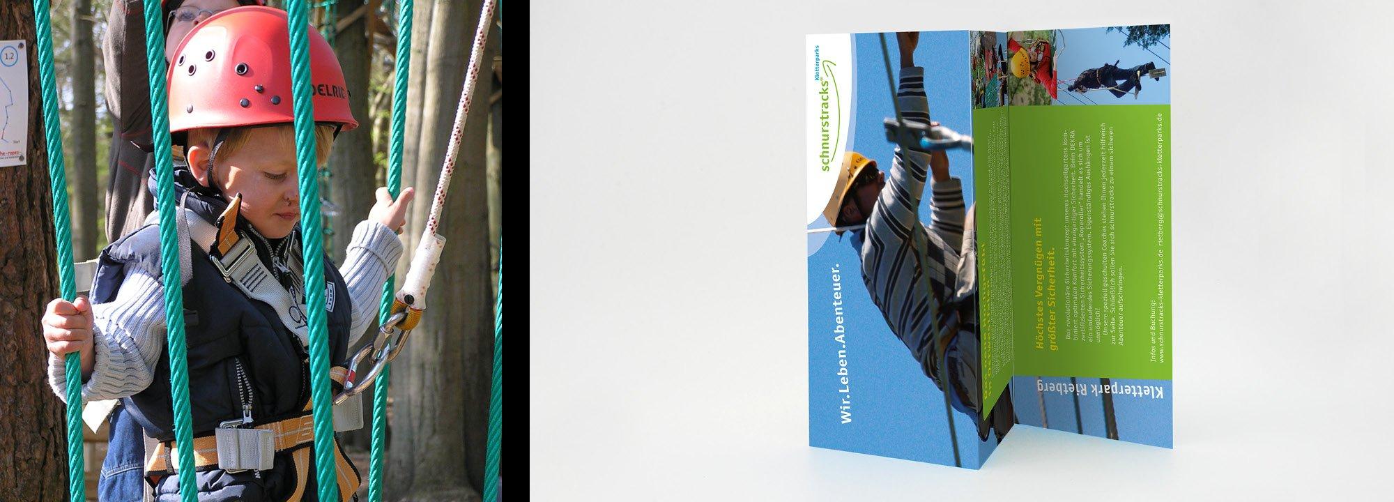 Kampagne schnurstracks Kletterparks 2010