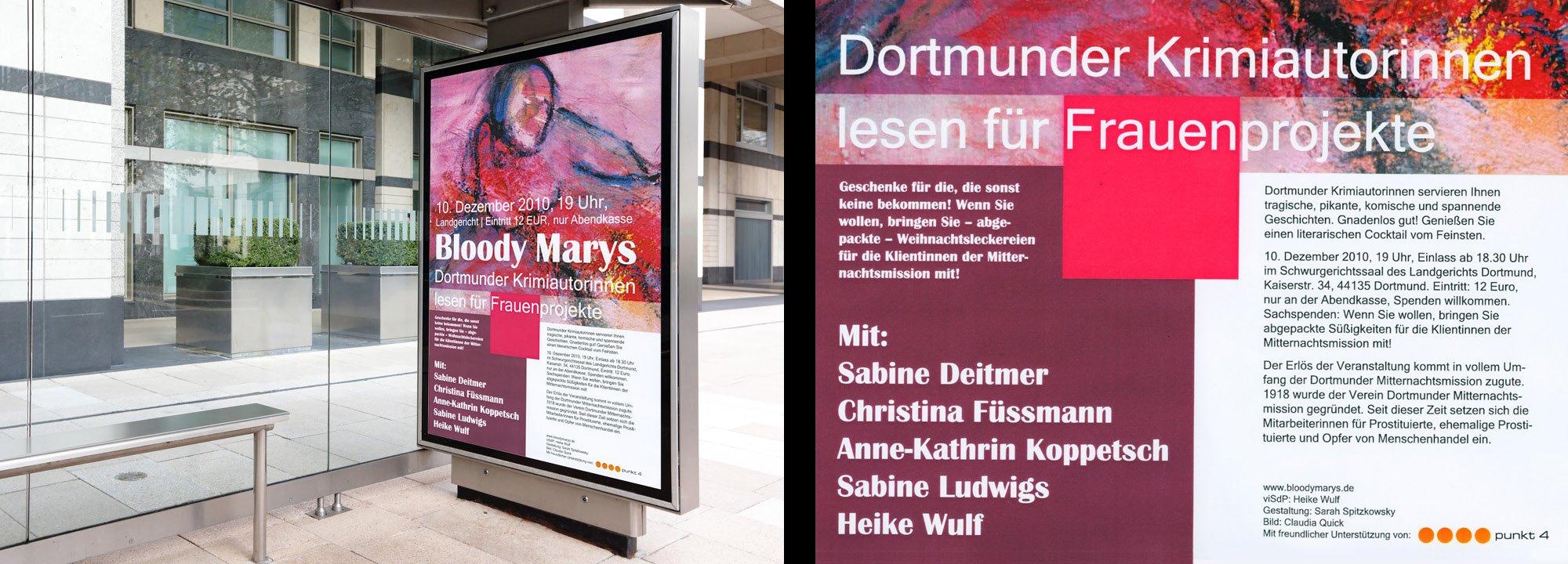 Sponsoring Dortmunder Krimiautorinnen 2010