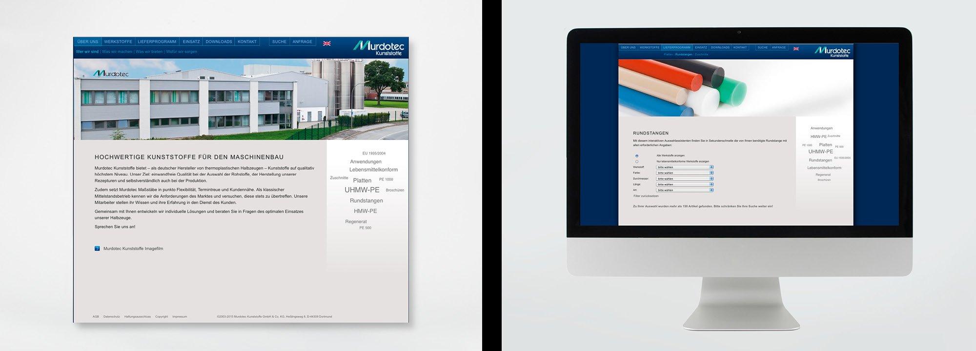 Relaunch Website Murdotec