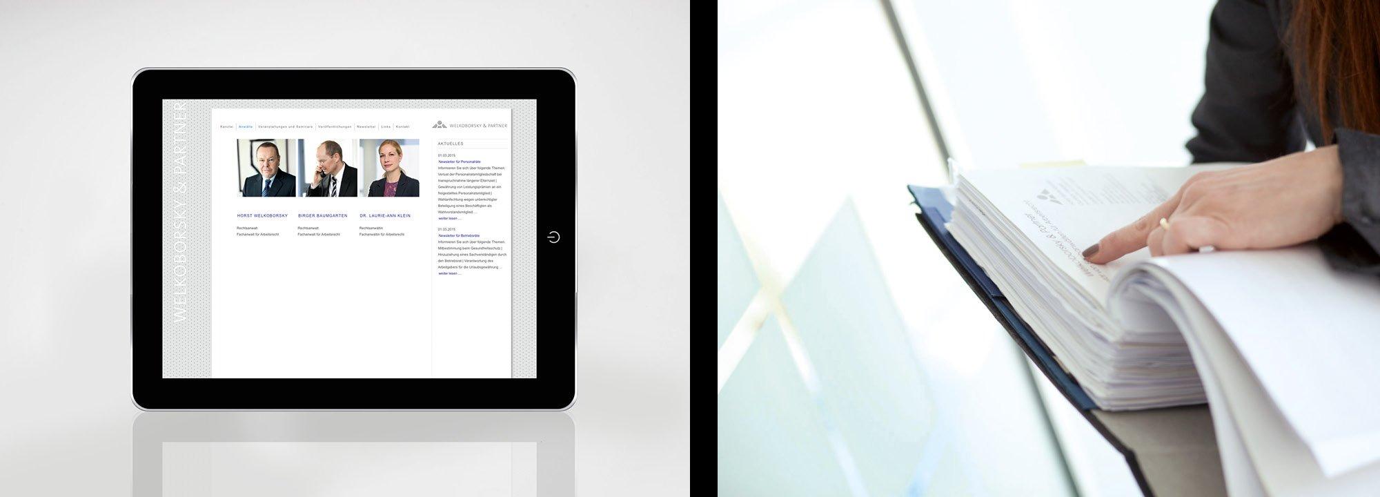 Corporate Design Relaunch Welkoborsky 2012