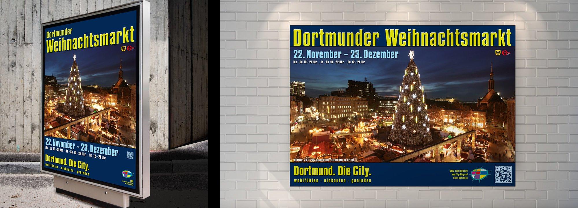 Corporate Design Relaunch Dortmunder Weihnachtsmarkt 2012