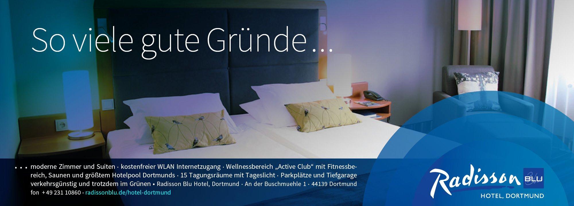Anzeige Radisson Blu Hotel 2013