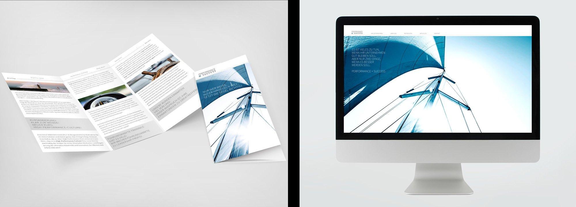 Erscheinungsbild Performance & Success GmbH