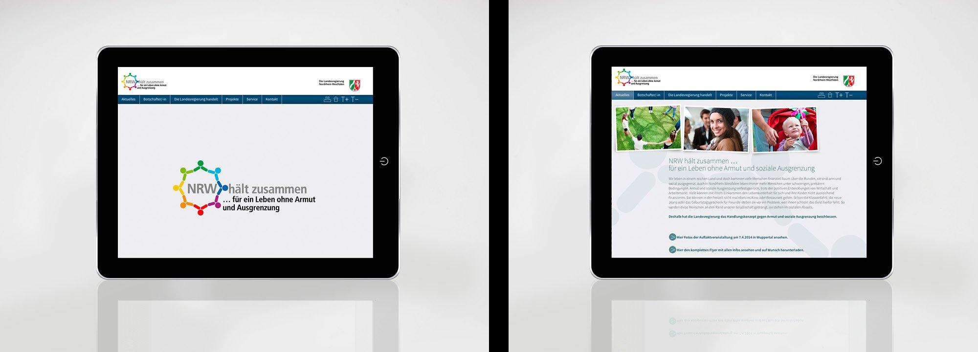 Website NRW hält zusammen 2014